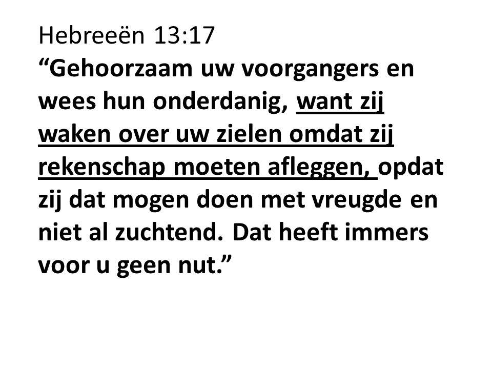 Hebreeën 13:17
