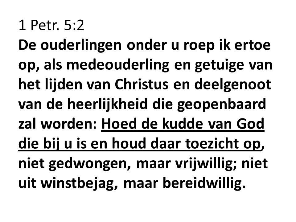 1 Petr. 5:2