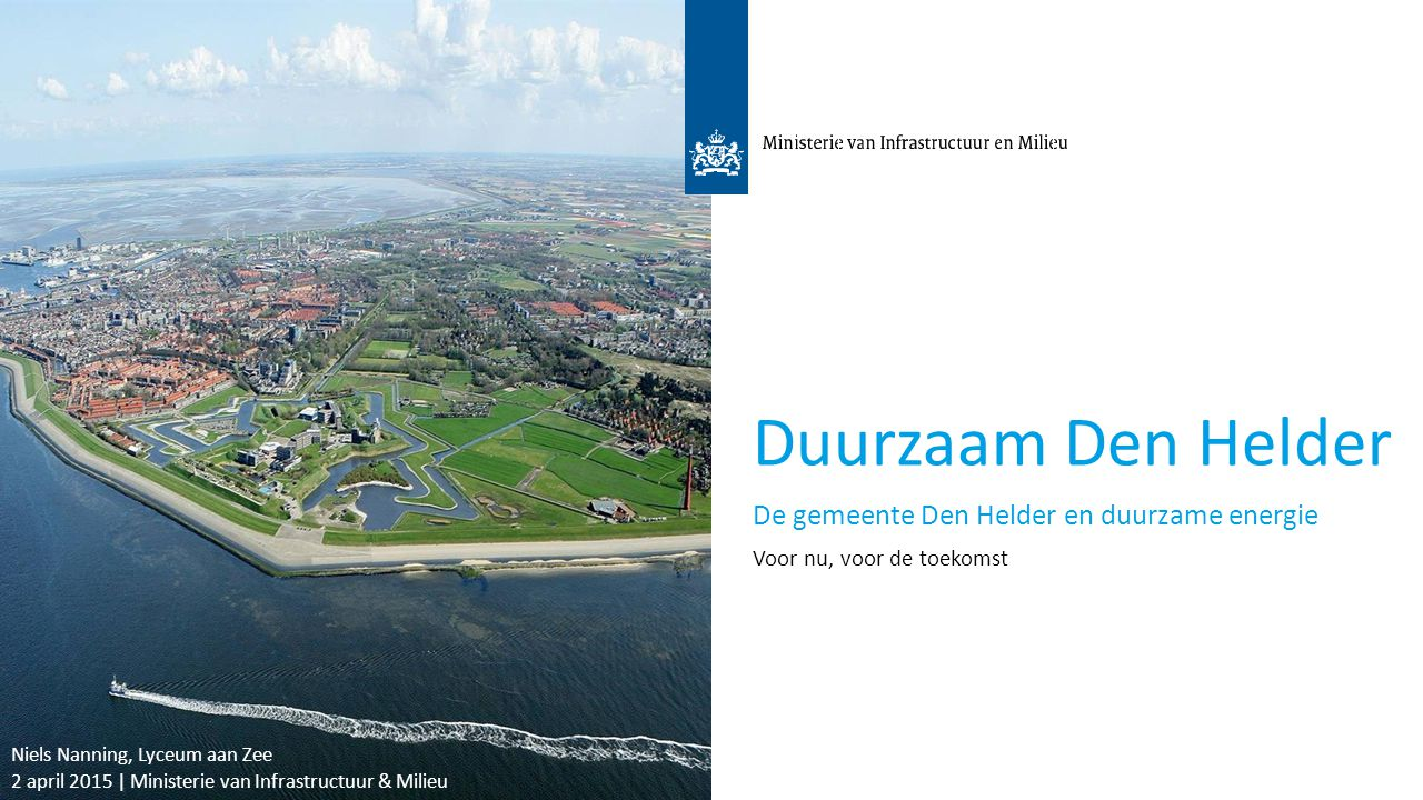 Duurzaam Den Helder De gemeente Den Helder en duurzame energie 3
