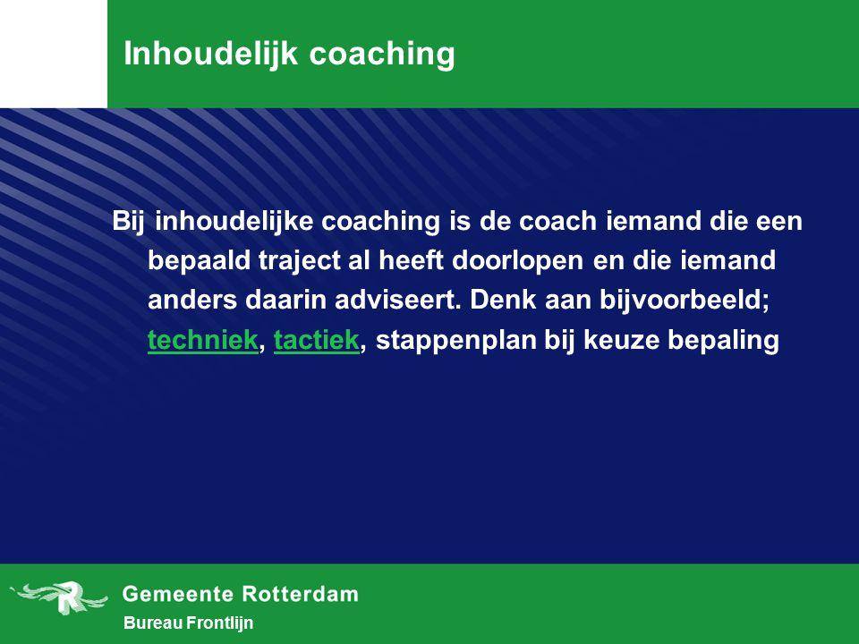 Inhoudelijk coaching