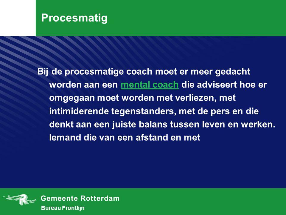 Procesmatig