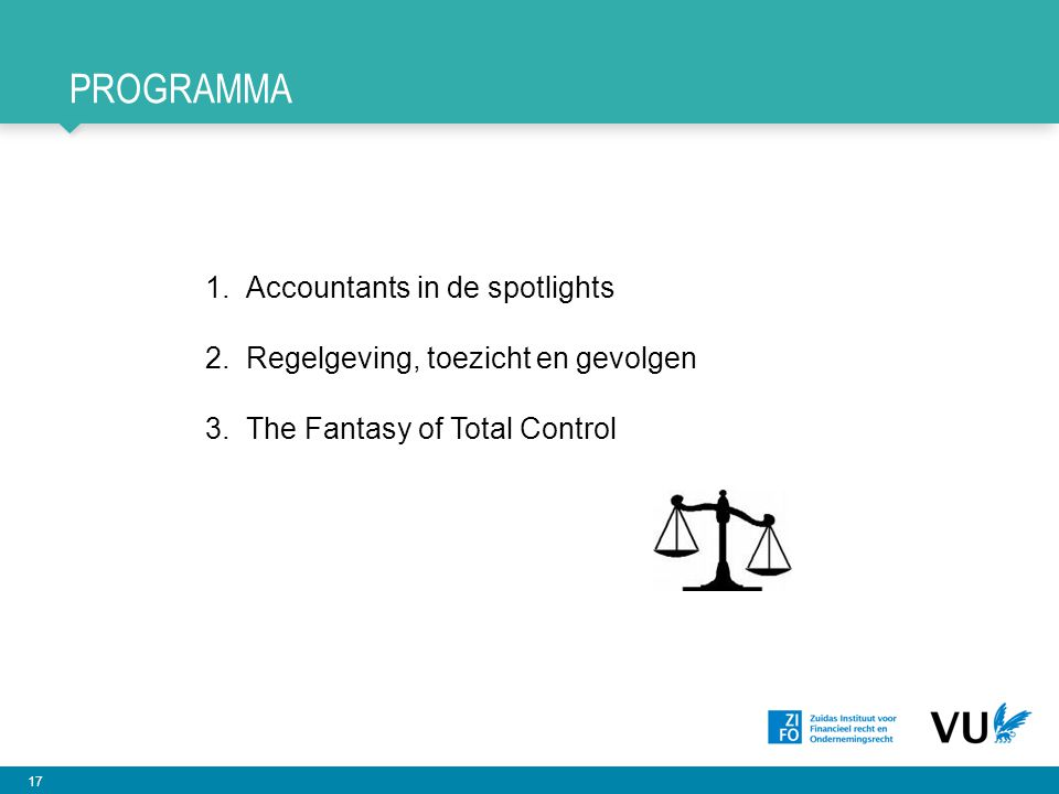 Programma Accountants in de spotlights