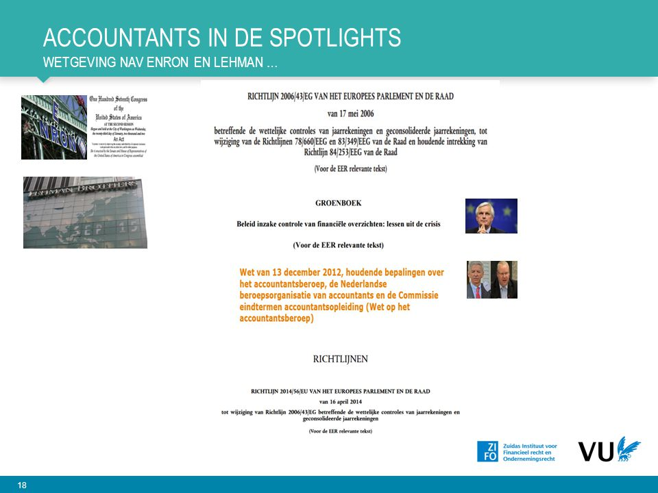 Accountants in de spotlights wetgeving nav enron en lehman …