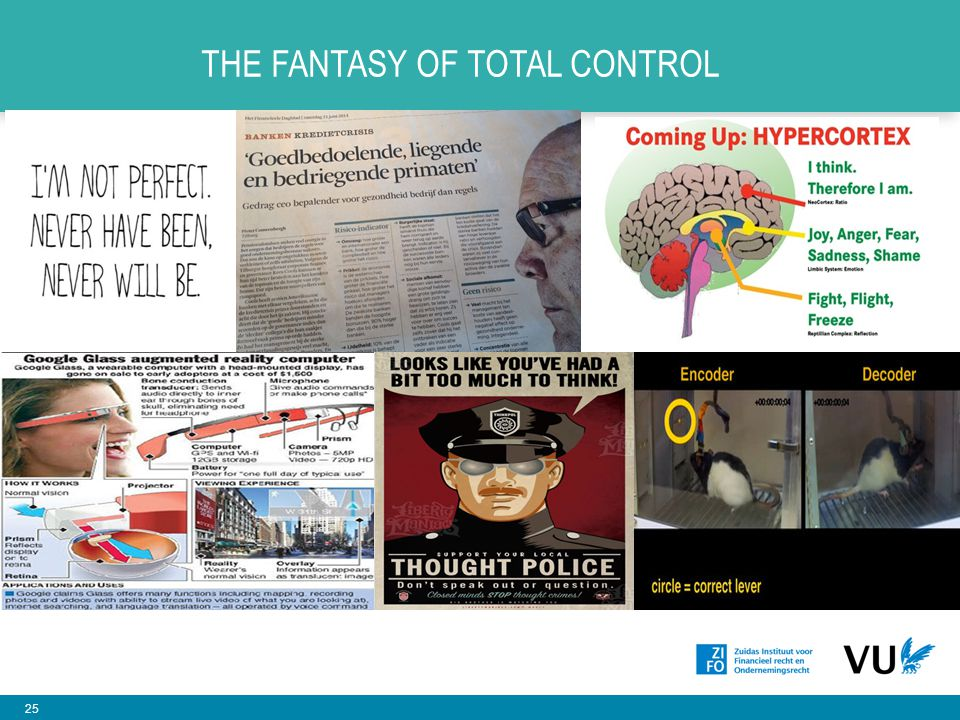 The fantasy of total control