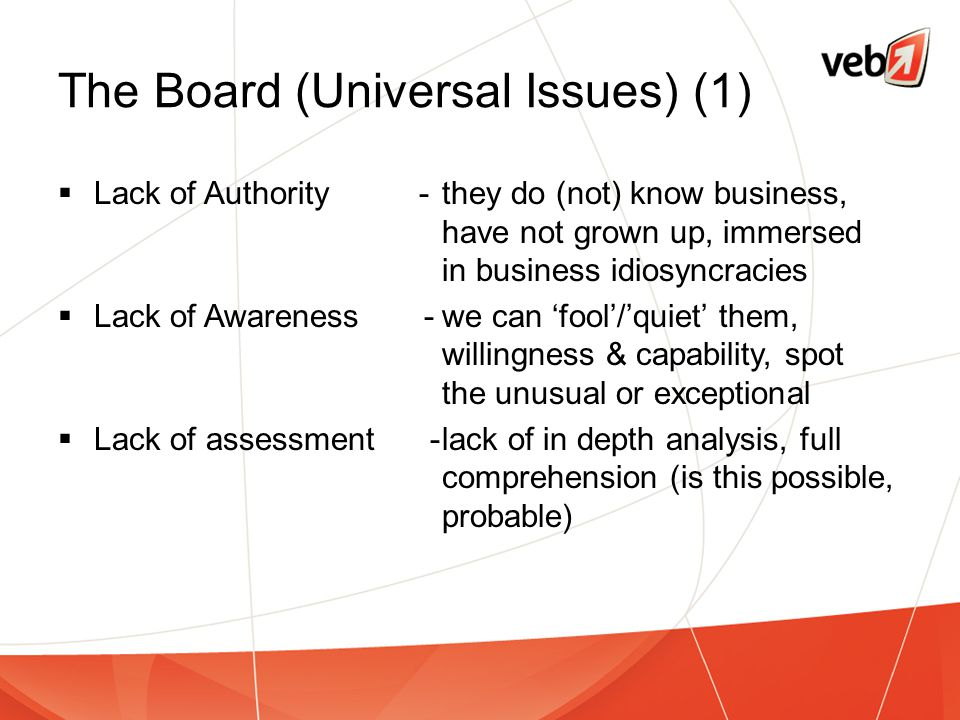 The Board (Universal Issues) (1)