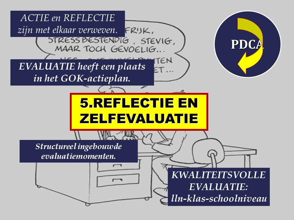 5.REFLECTIE EN ZELFEVALUATIE