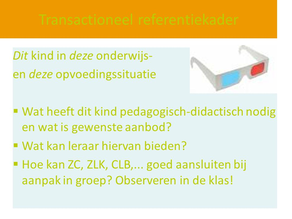 Transactioneel referentiekader