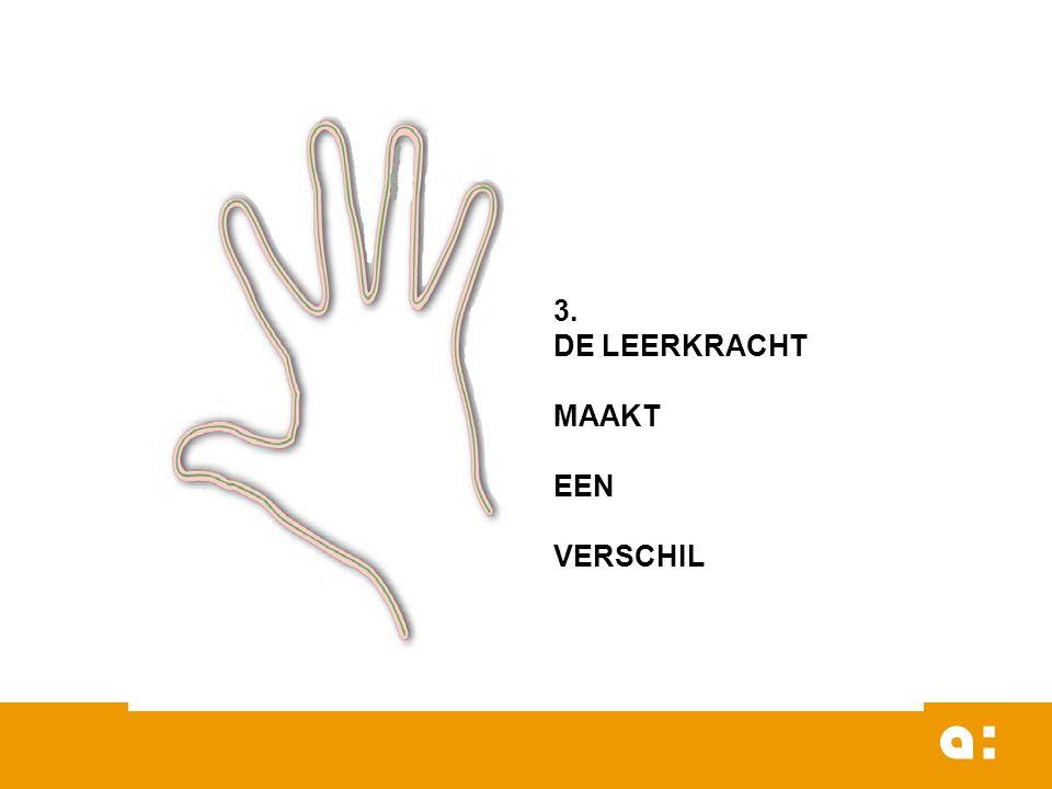 3. DE LEERKRACHT MAAKT EEN VERSCHIL