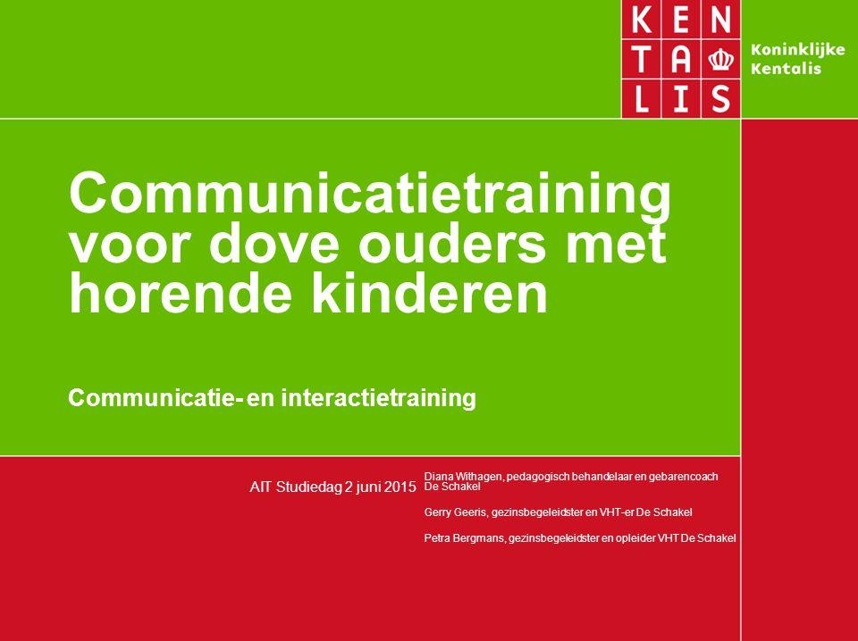 Communicatietraining voor dove ouders met horende kinderen