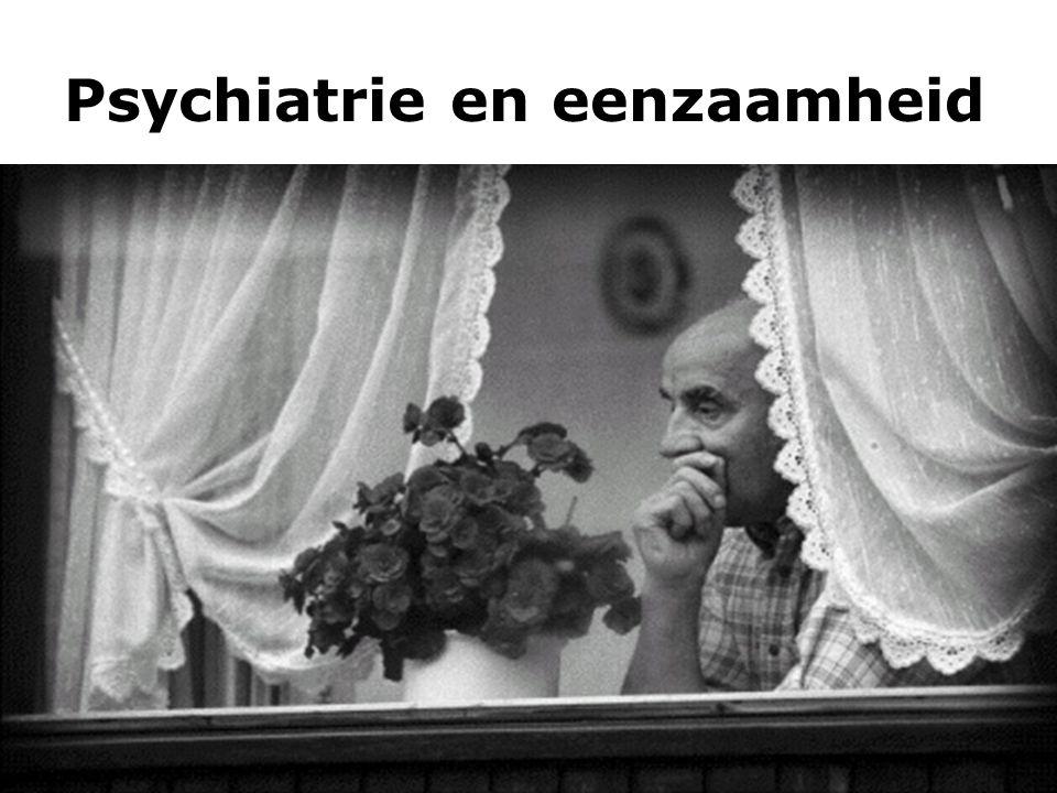 Psychiatrie en eenzaamheid