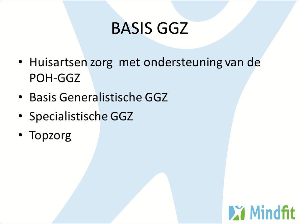 BASIS GGZ Huisartsen zorg met ondersteuning van de POH-GGZ