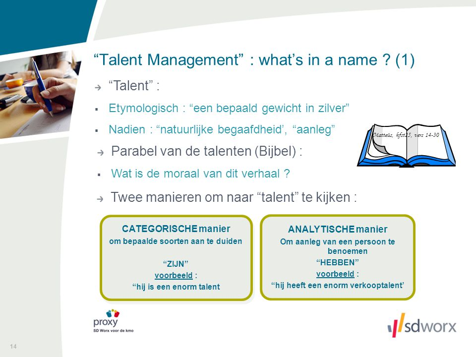 Talent Management : what's in a name (1)