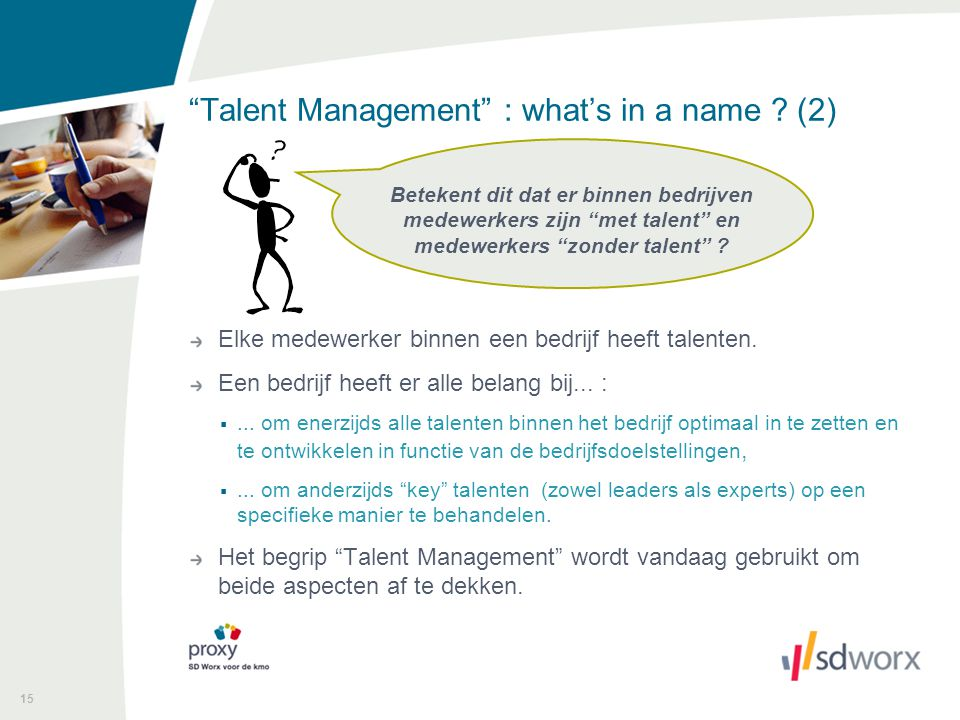 Talent Management : what's in a name (2)