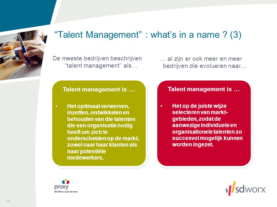 Talent Management : what's in a name (3)