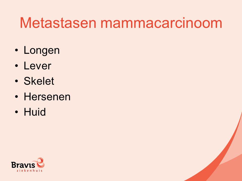 Metastasen mammacarcinoom