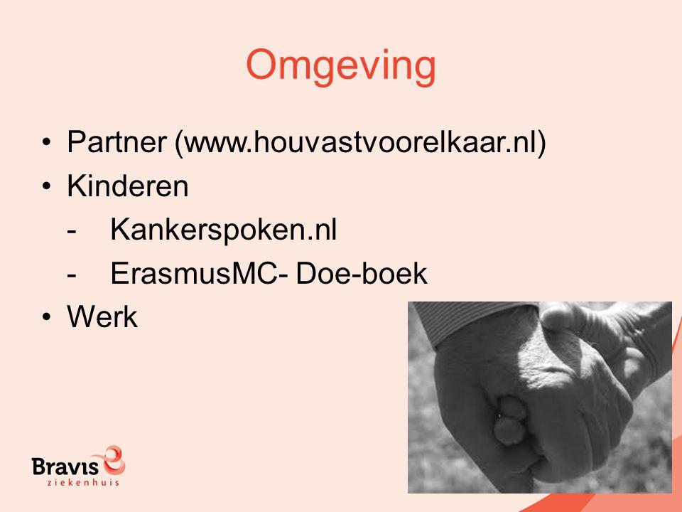 Omgeving Partner (www.houvastvoorelkaar.nl) Kinderen - Kankerspoken.nl