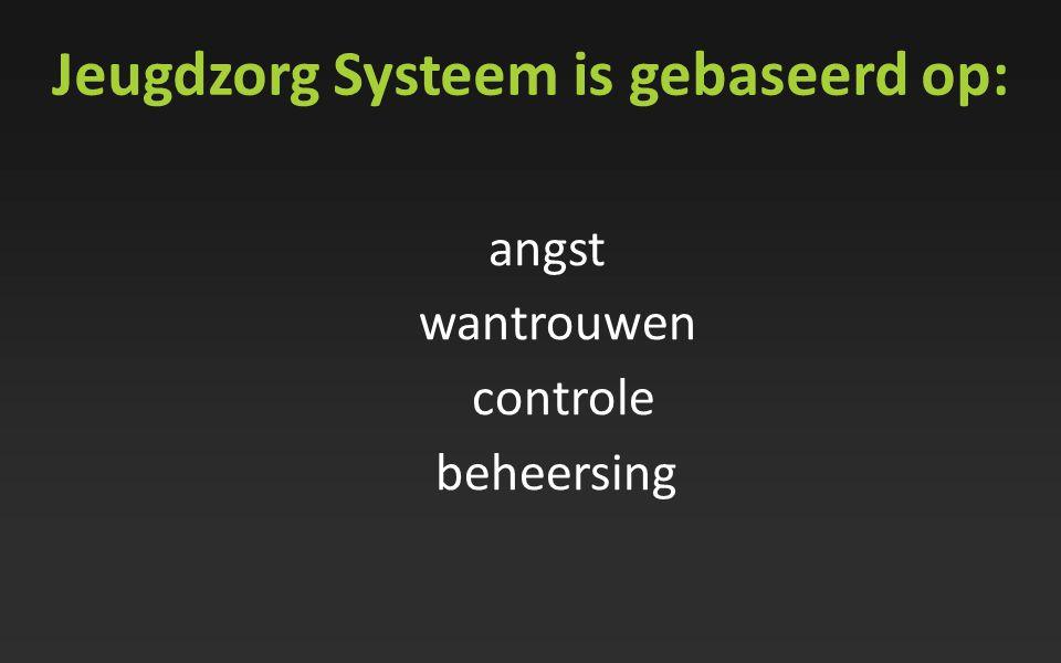 Jeugdzorg Systeem is gebaseerd op: