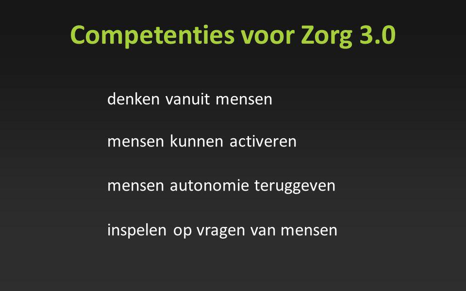 Competenties voor Zorg 3.0