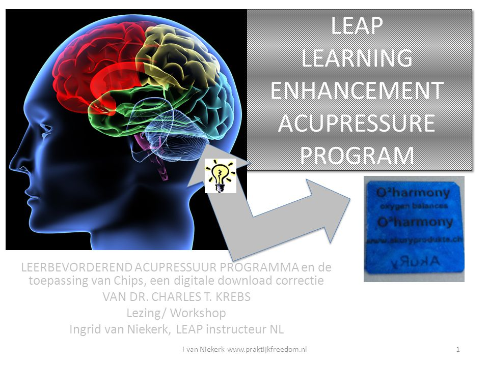 LEAP LEARNING ENHANCEMENT ACUPRESSURE PROGRAM
