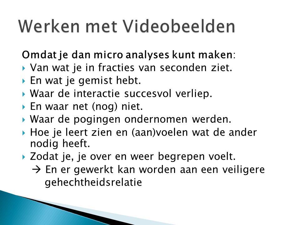 Werken met Videobeelden