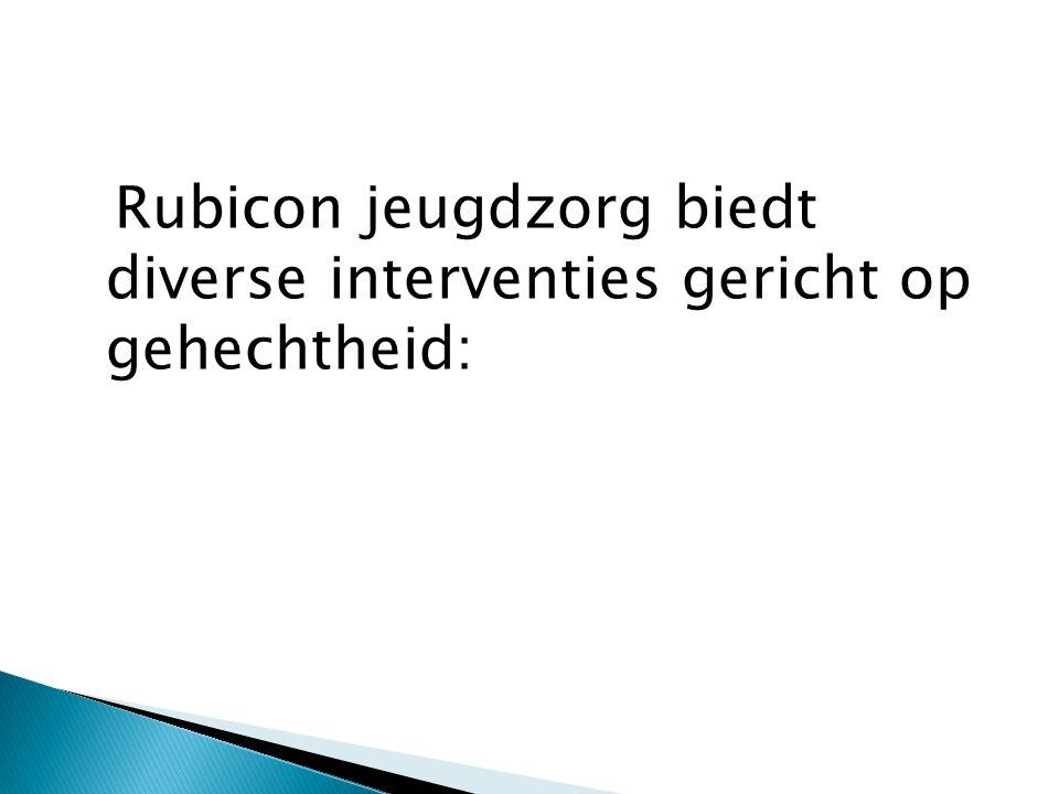 Rubicon jeugdzorg biedt diverse interventies gericht op gehechtheid: