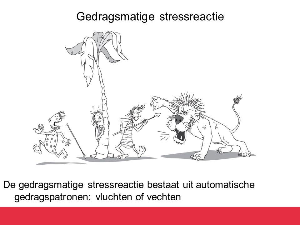 Gedragsmatige stressreactie