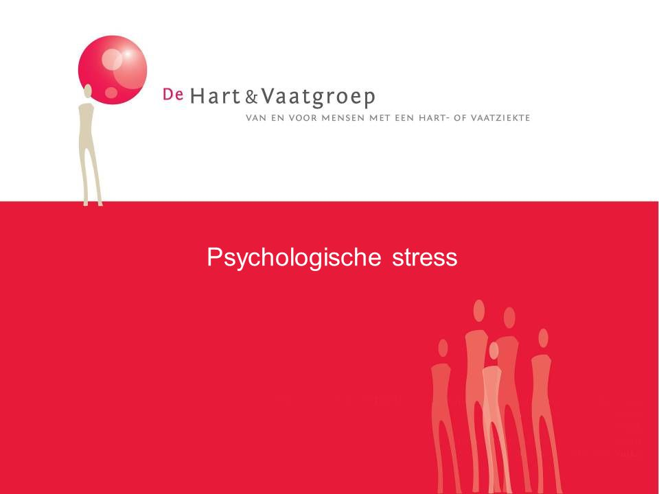 Psychologische stress