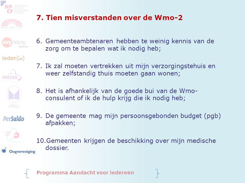 7. Tien misverstanden over de Wmo-2