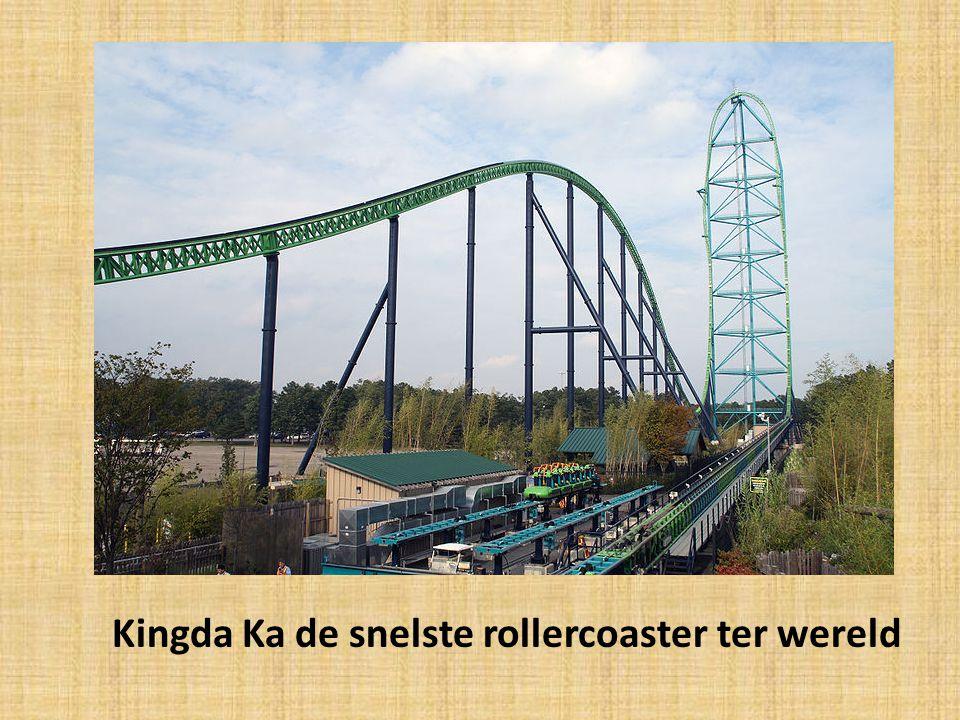 Kingda Ka de snelste rollercoaster ter wereld
