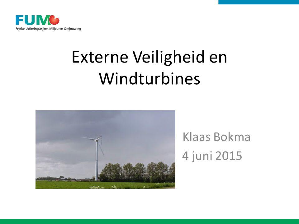 Externe Veiligheid en Windturbines
