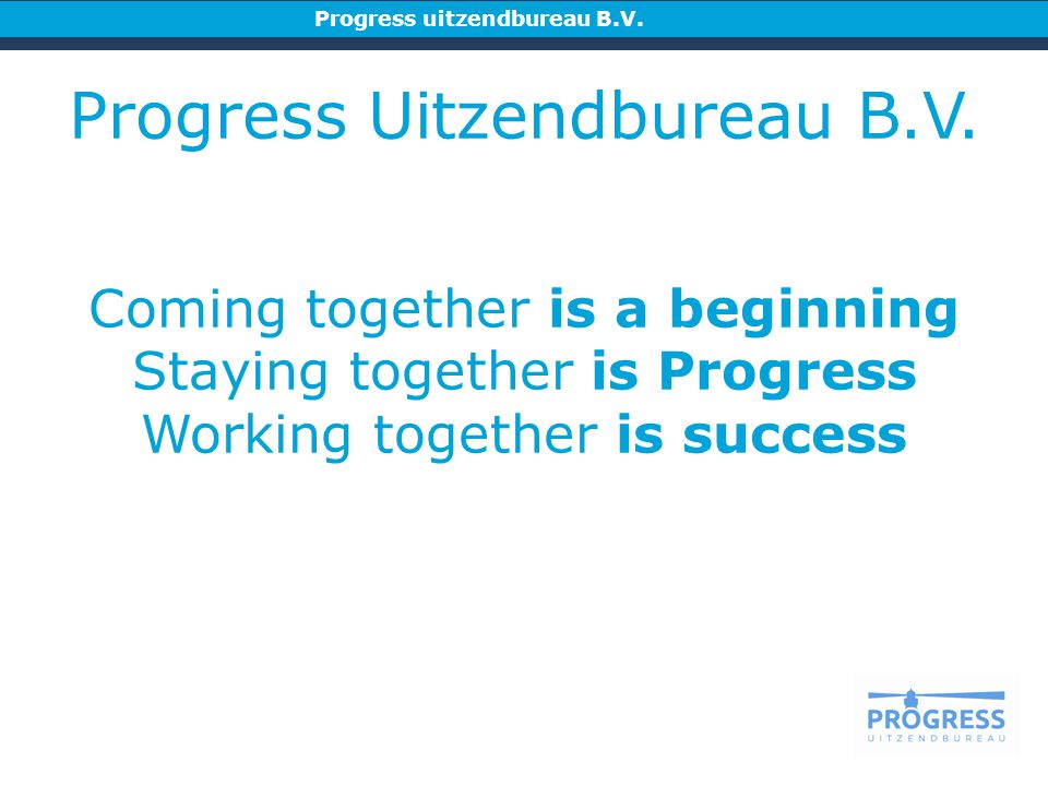 Progress Uitzendbureau B.V.