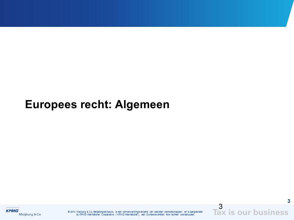 Europees recht: Algemeen