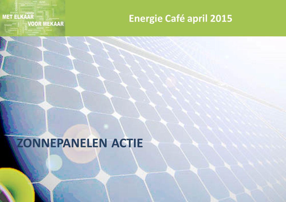 Energie Café april 2015 ZonnePanelen actie