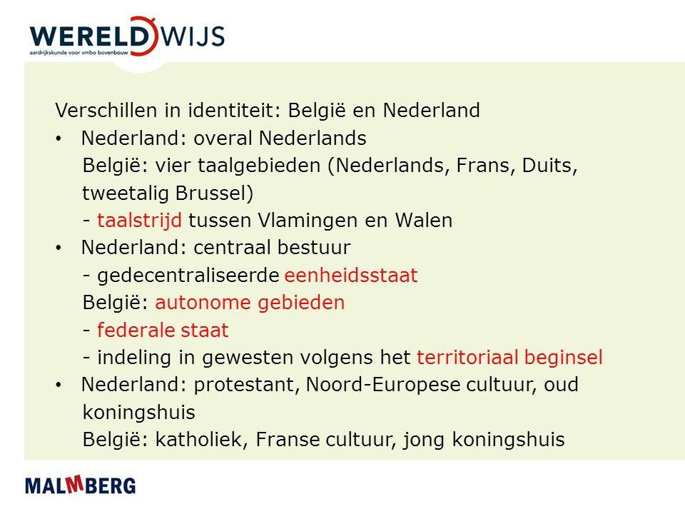 Verschillen in identiteit: België en Nederland