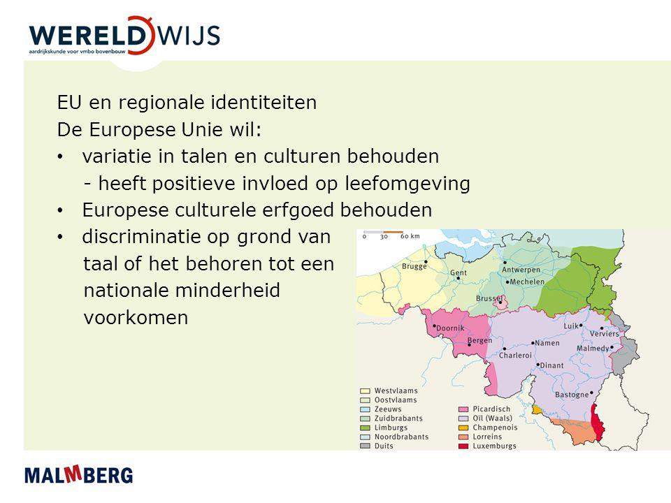 EU en regionale identiteiten