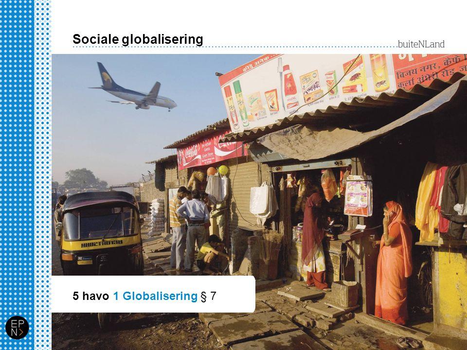 Sociale globalisering