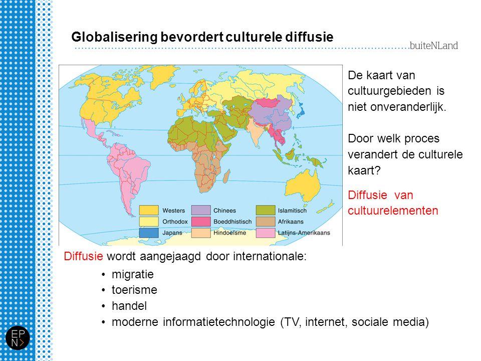 Globalisering bevordert culturele diffusie