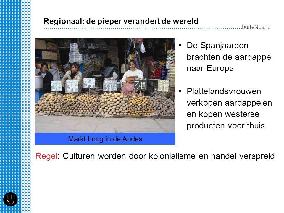 De Spanjaarden brachten de aardappel naar Europa