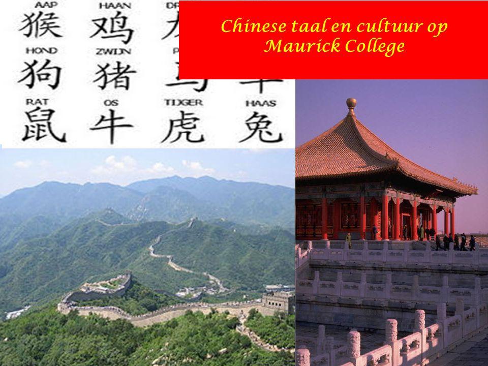 Chinese taal en cultuur op