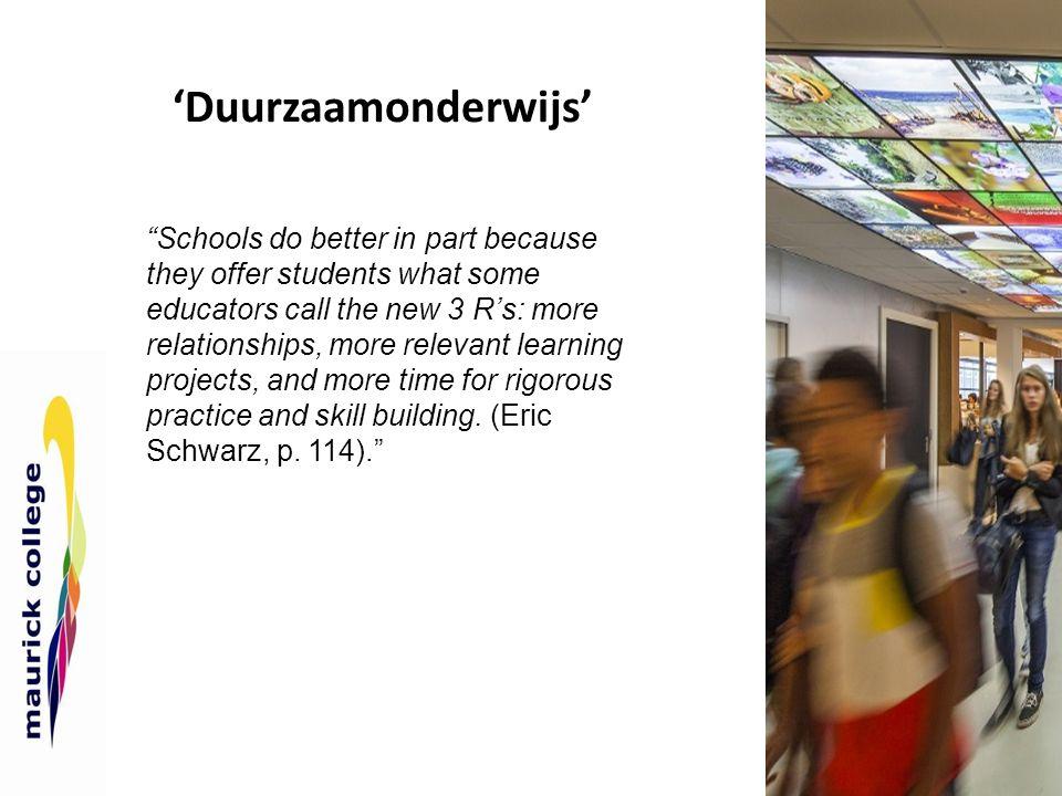 'Duurzaamonderwijs'