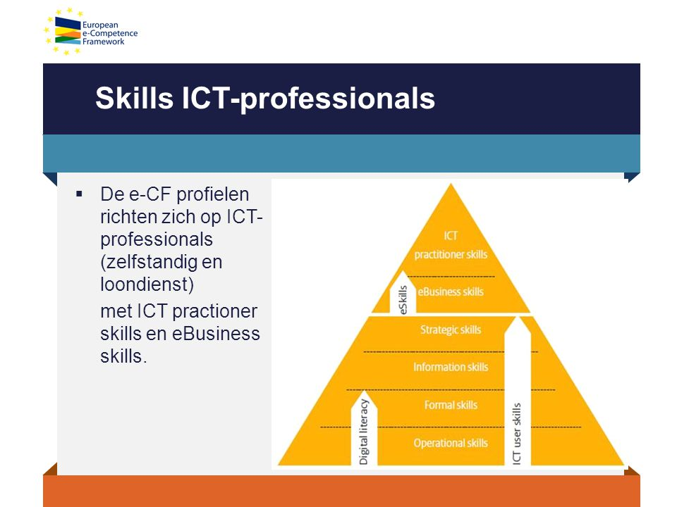 Skills ICT-professionals