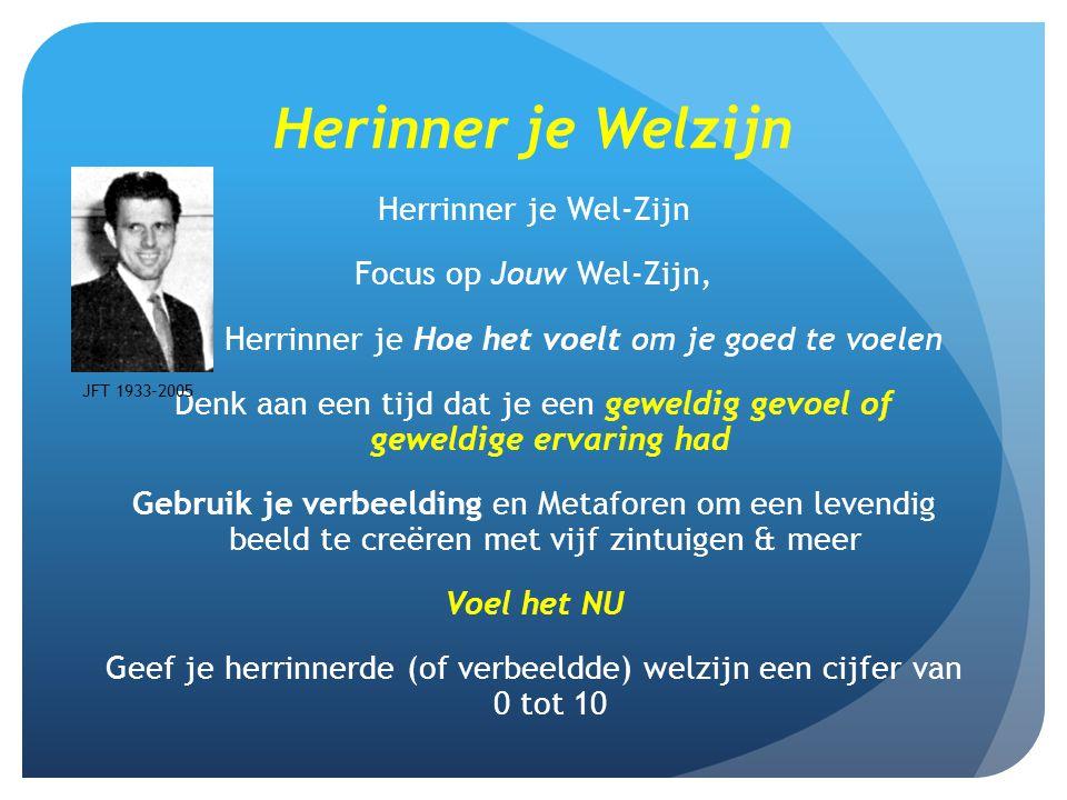 Herinner je Welzijn