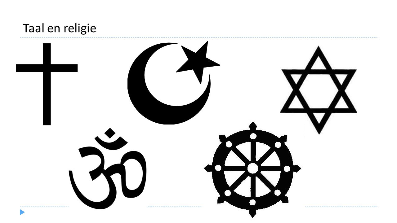 Taal en religie