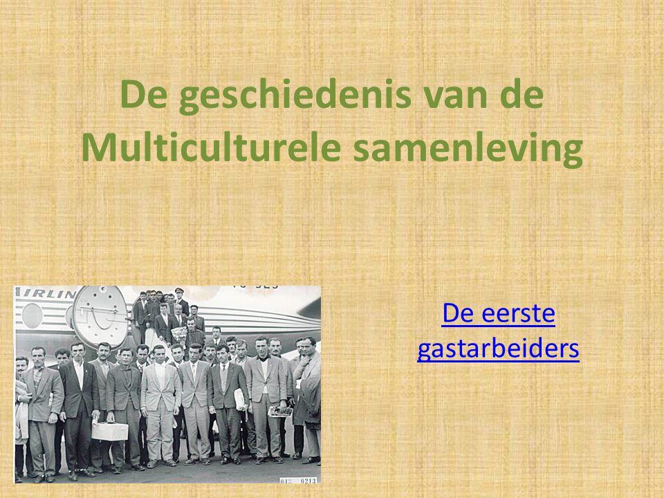 De geschiedenis van de Multiculturele samenleving