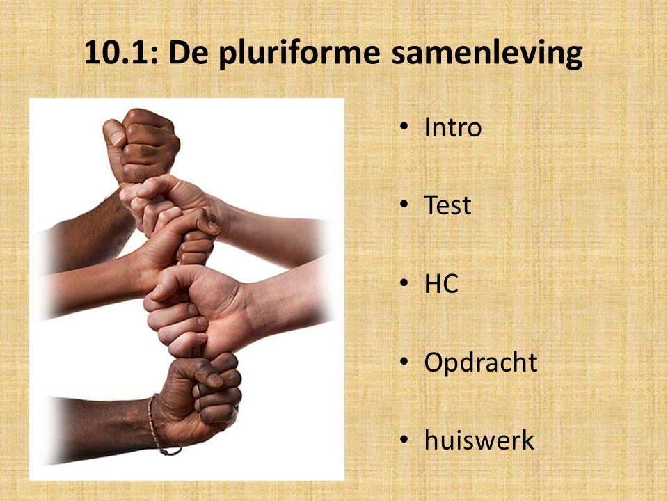 10.1: De pluriforme samenleving