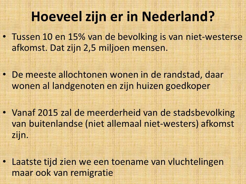 Hoeveel zijn er in Nederland