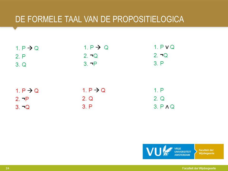 De Formele taal van de propositielogica