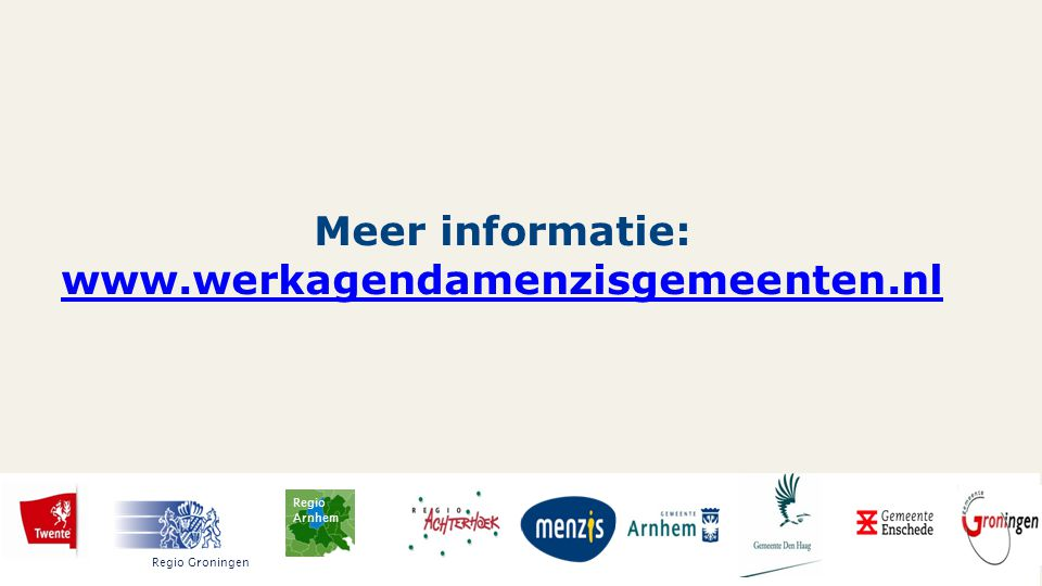 Meer informatie: www.werkagendamenzisgemeenten.nl