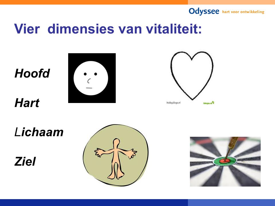 Vier dimensies van vitaliteit: