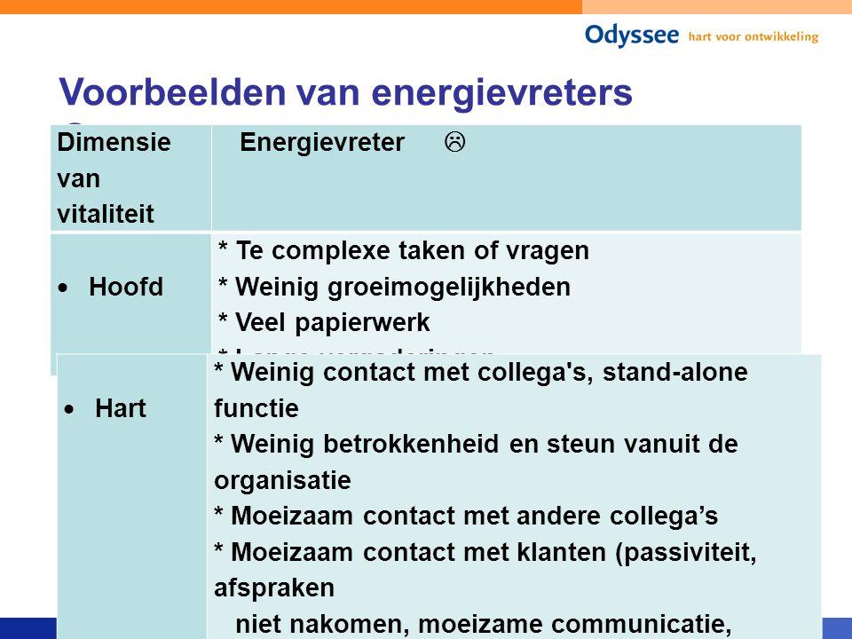 Voorbeelden van energievreters 